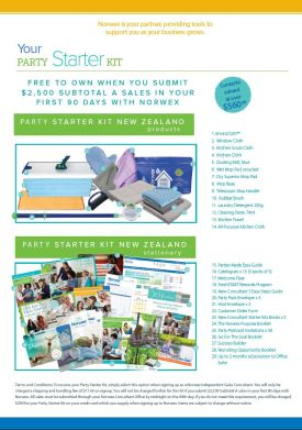 Norwex 2019 New Consultant Party Starter Kit, New Zealand   SustainableSuburbia.net