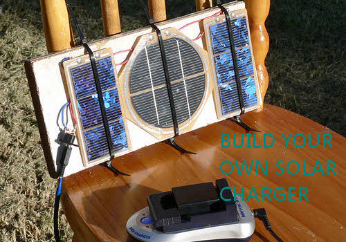 Seven Plans For A DIY Solar Charger