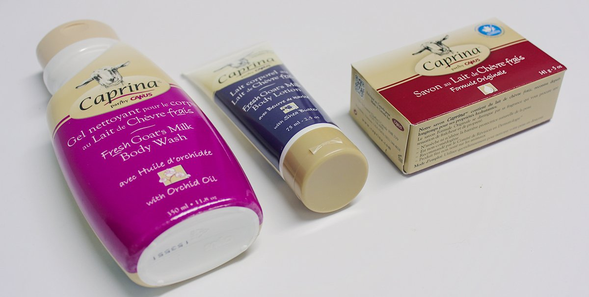 Caprina Goat's Milk | New Products 2016