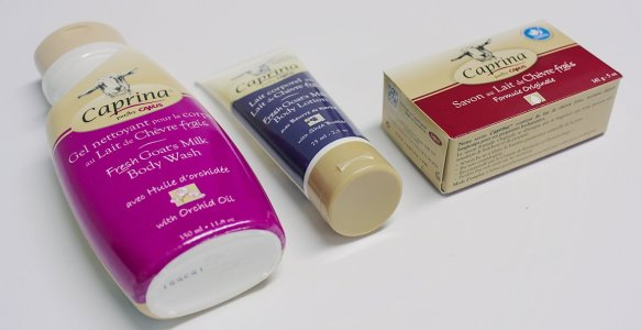 Caprina Goat's Milk | New Products 2016