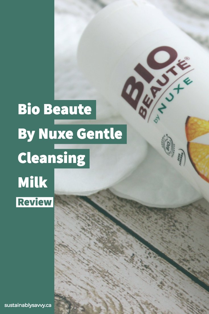 Bio Beaute by Nuxe Gentle Cleansing Milk Review