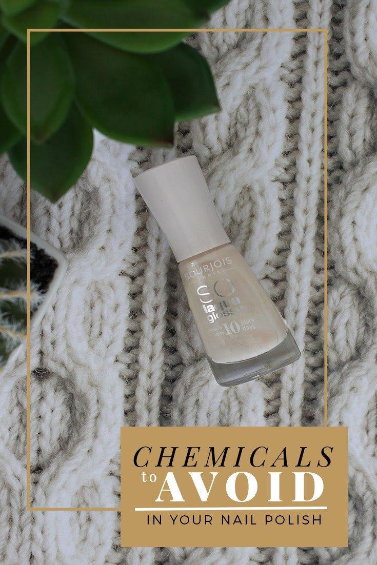 Chemicals to avoid in your nail polish