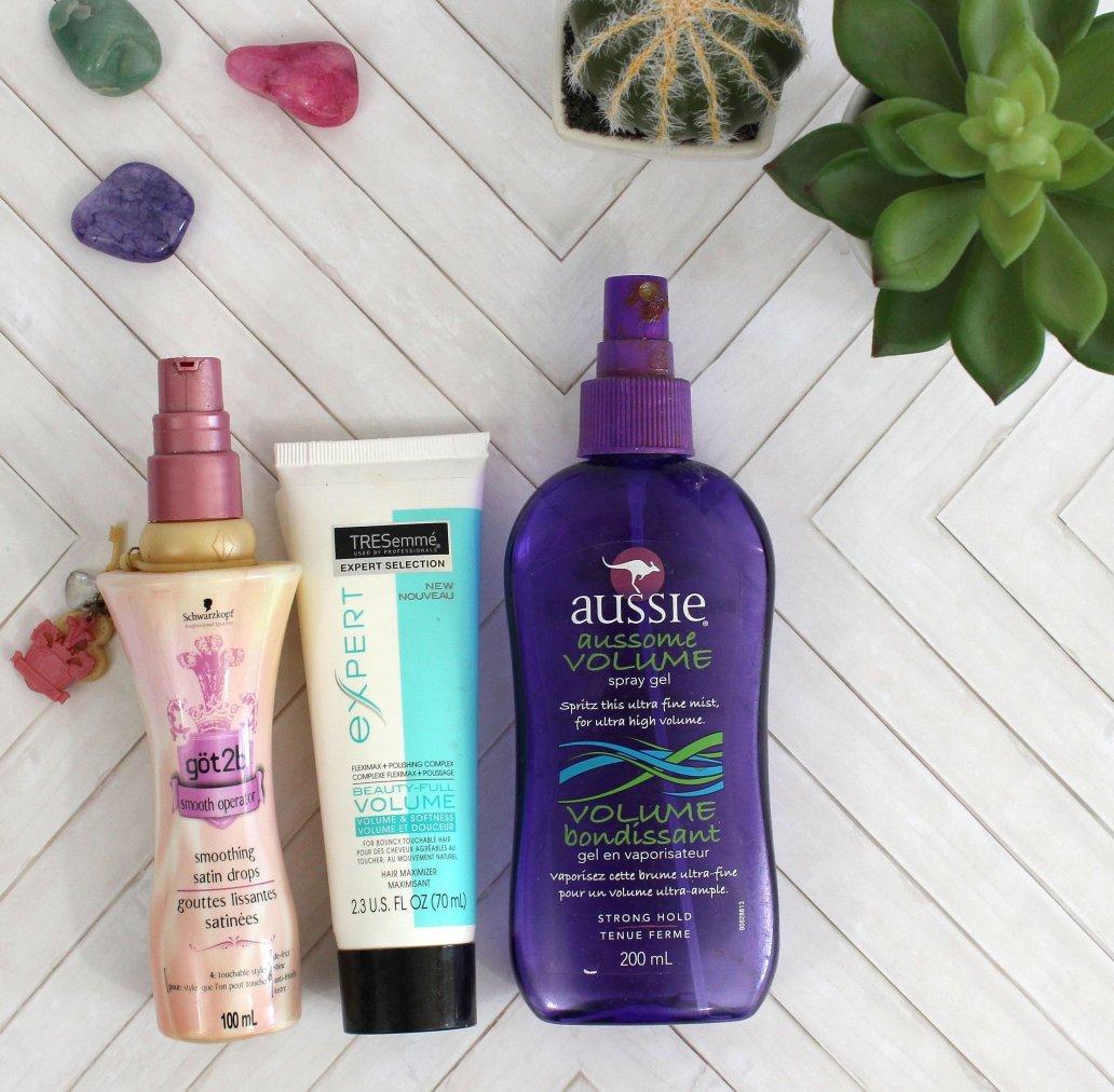 hair products purge 2017