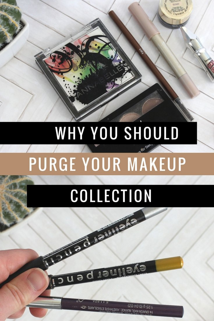 why you should purge your makeup collection