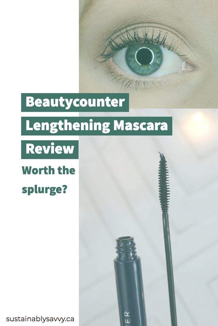Beautycounter lengthening mascara review: worth the splurge?
