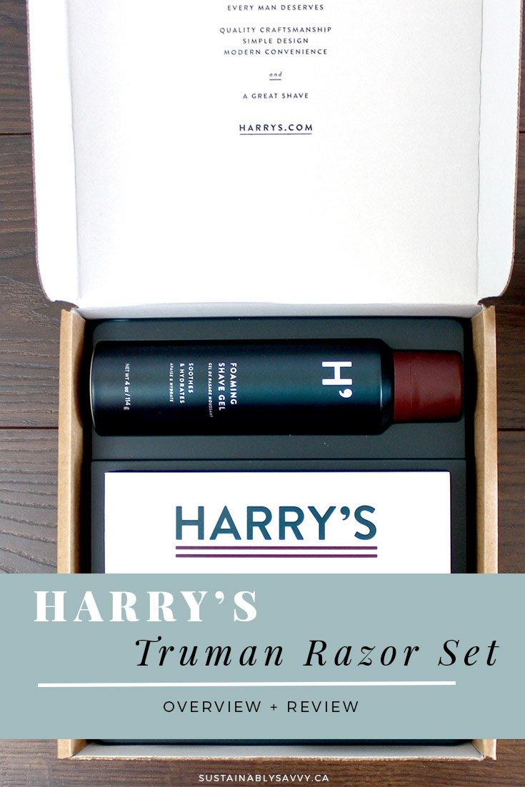 HARRYS TRUMAN RAZOR SET REVIEW