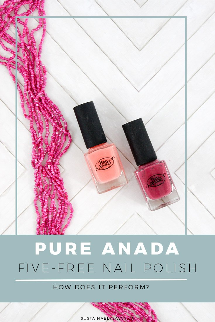 PURE ANADA FIVE FREE NAIL POLISH