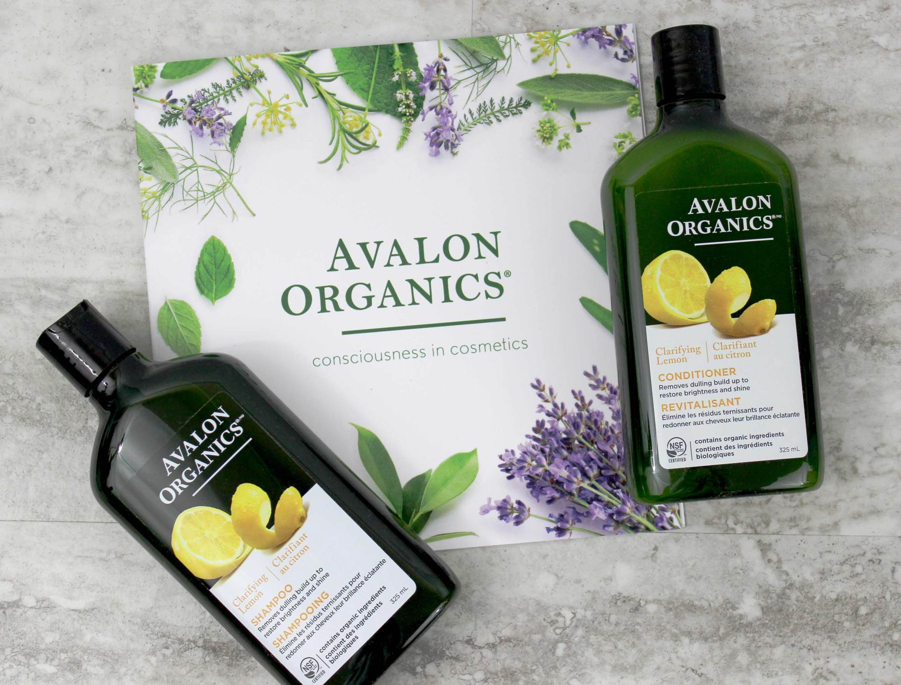Avalon Organics Shampoo + Conditioner | Review