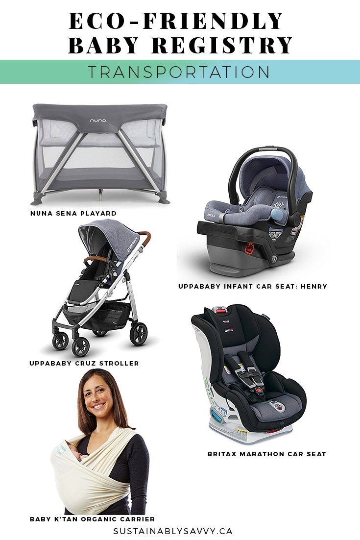 ECO FRIENDLY BABY REGISTRY TRANSPORTATION