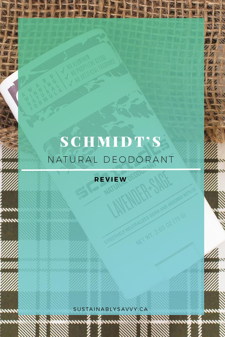 SCHMIDTS NATURAL DEODORANT REVIEW PINTEREST
