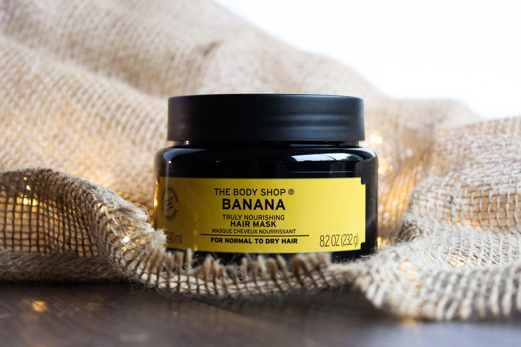 the body shop nourishing banana hair mask