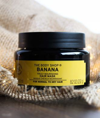 the body shop nourishing banana hair mask