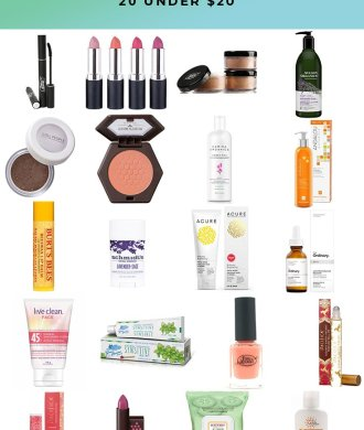 AFFORDABLE GREEN BEAUTY 20 UNDER $20