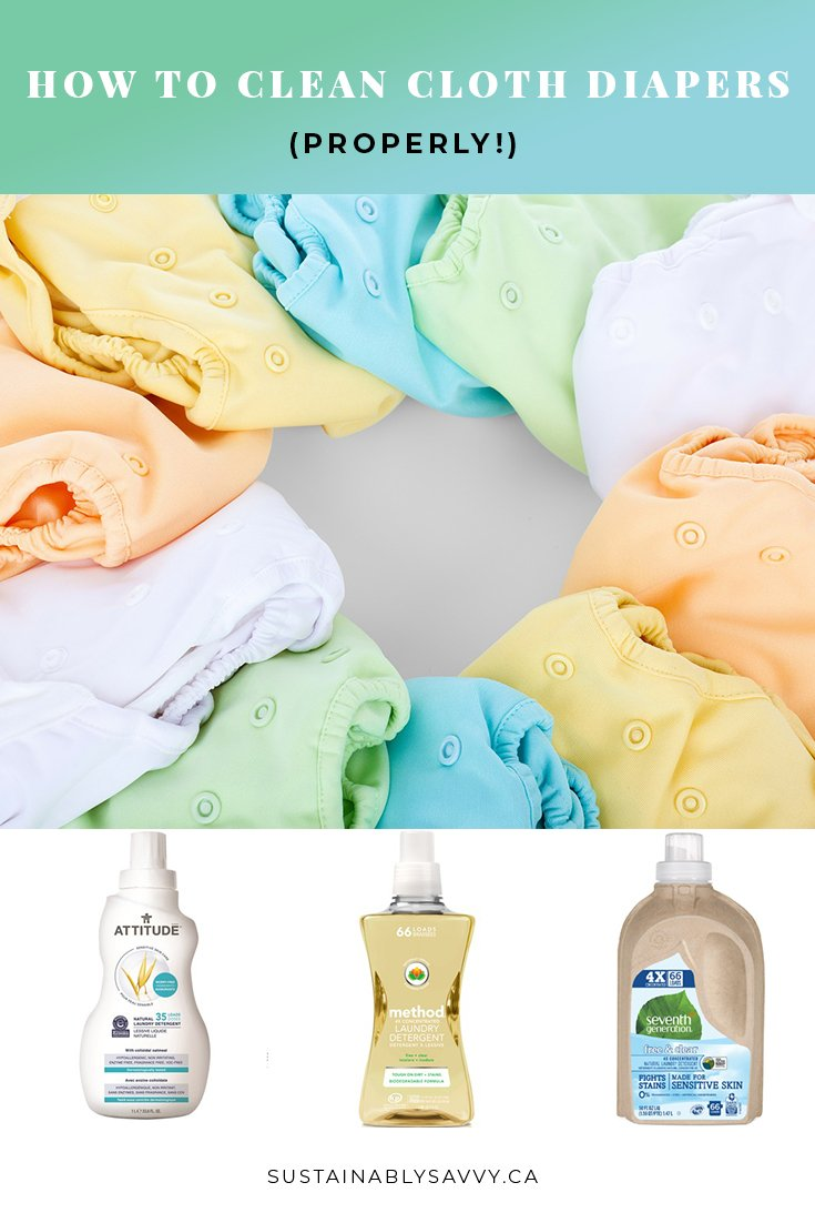 HOW TO CLEAN CLOTH DIAPERS PROPERLY