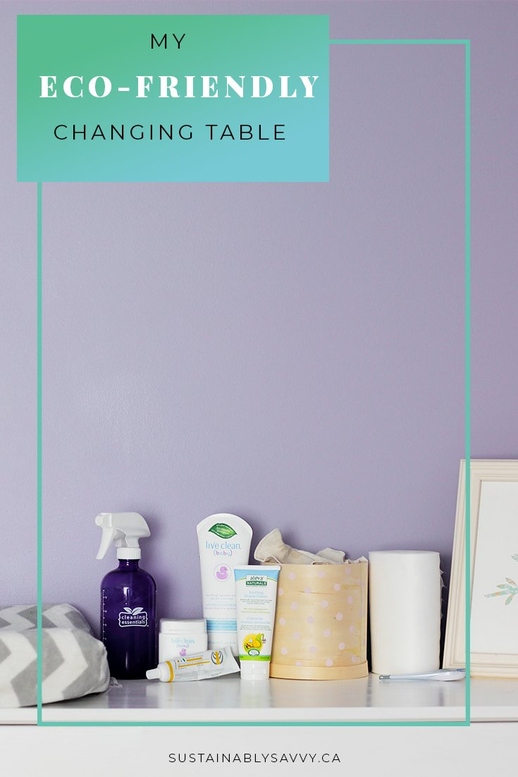 ECO FRIENDLY CHANGING TABLE