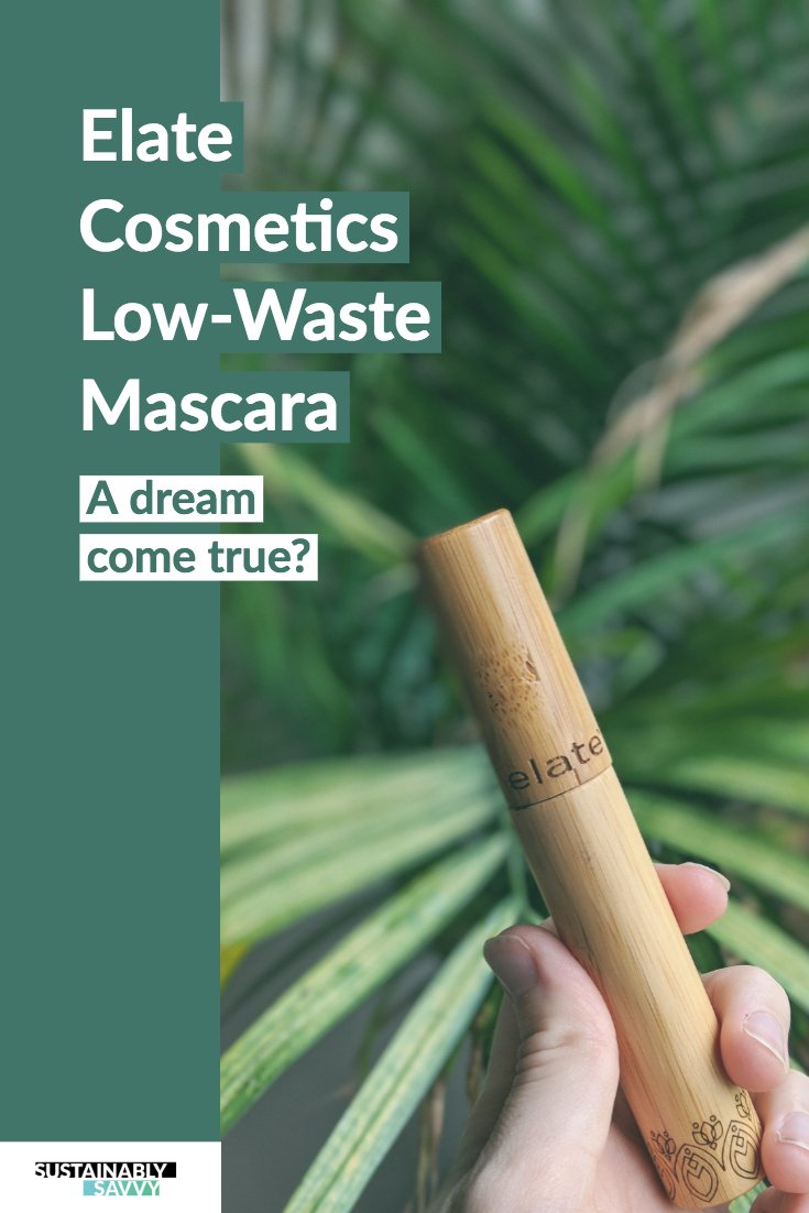 Elate Cosmetics Low Waste Mascara pin