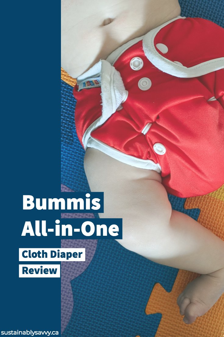 Bummis All in One Cloth Diaper Review