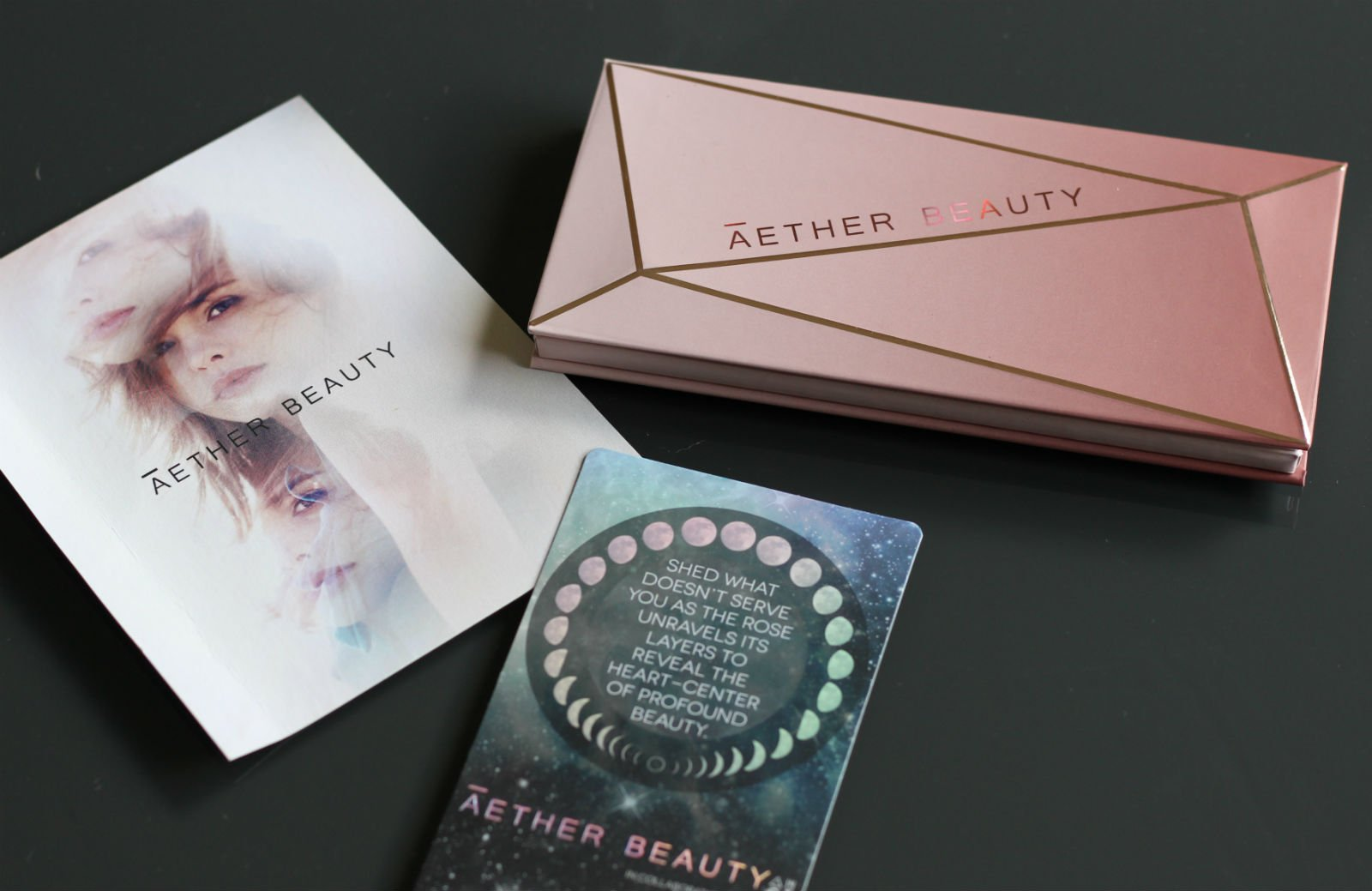 The First Zero Waste Eye Shadow Palette? Aether Beauty Rose Quartz Palette Review