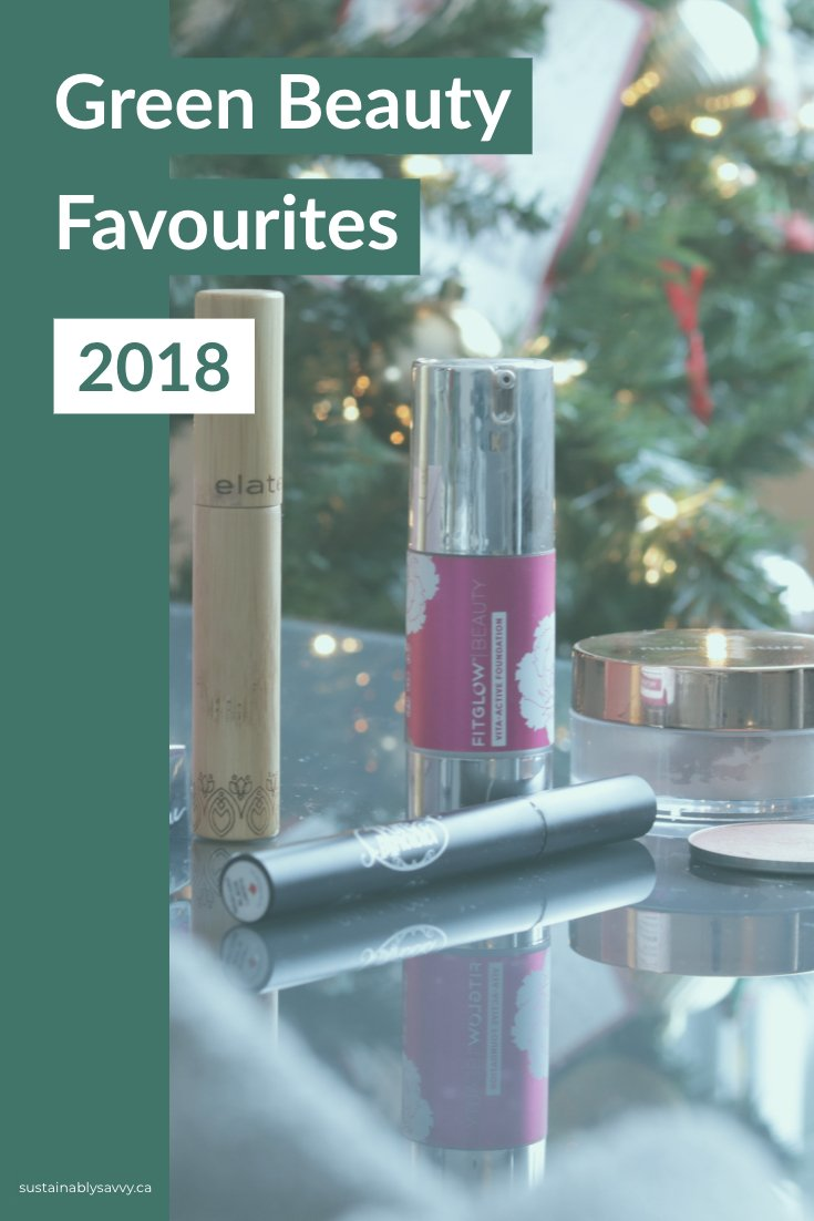Green beauty Favourites 2018