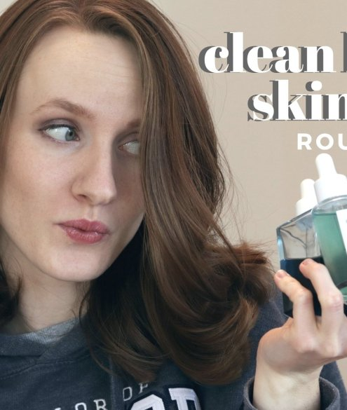 clean beauty skincare routine