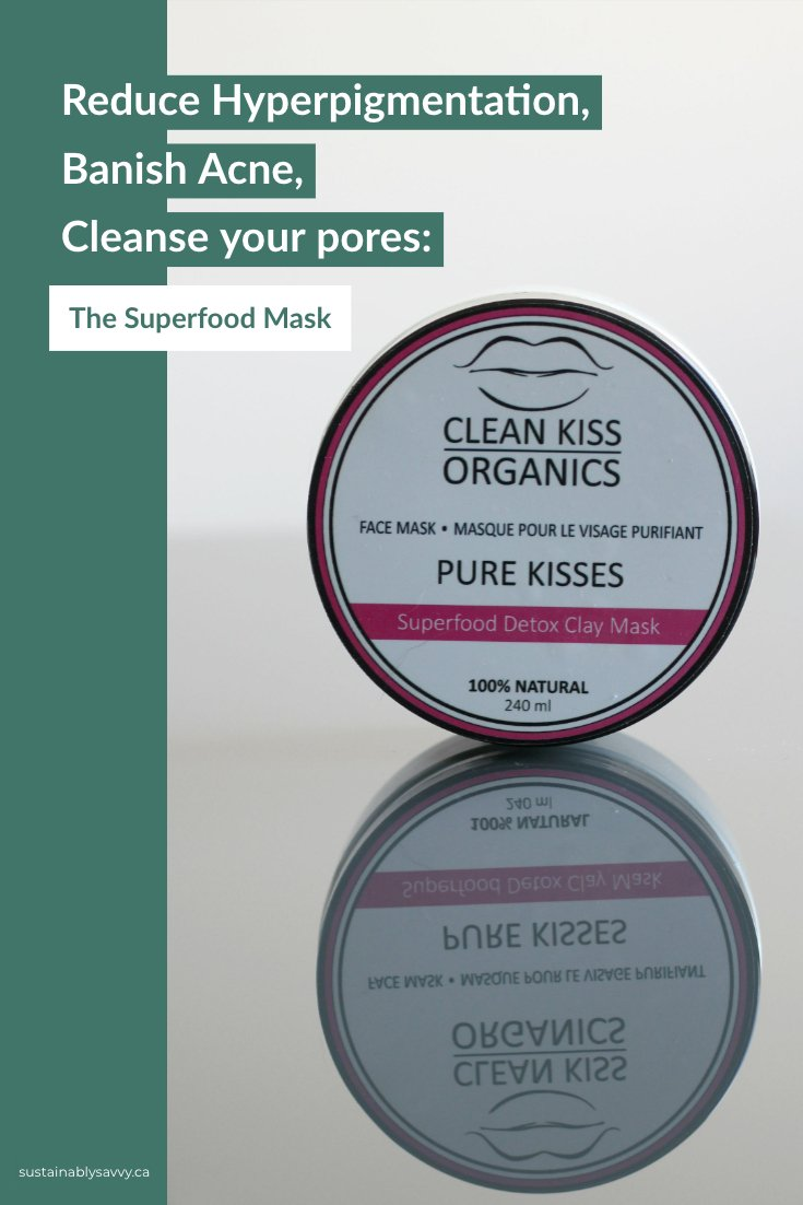Pure Kisses Face Mask: Superfood Clay Mask