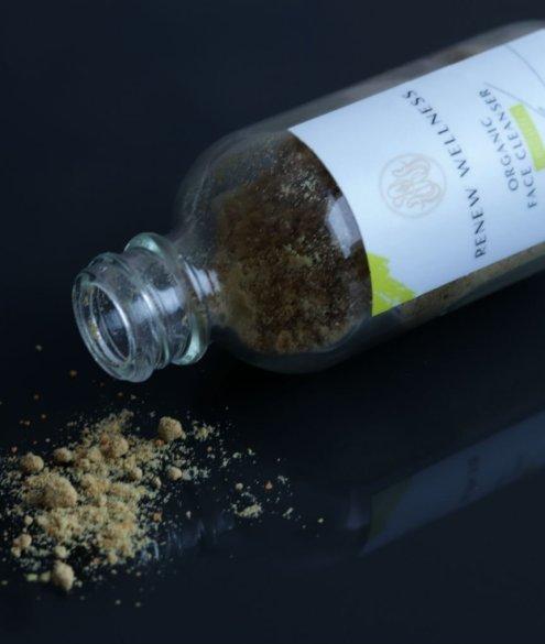 Renew Wellness Brightening 3 in 1 face powder cleanser