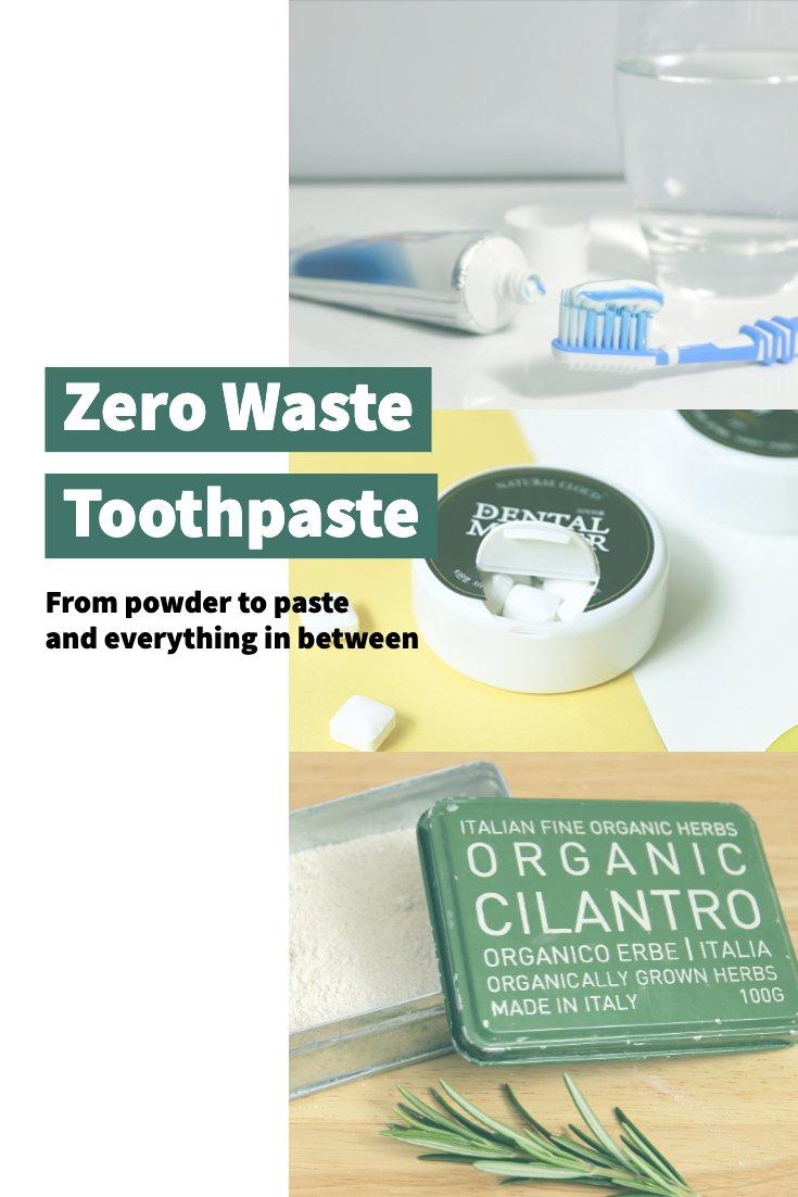 Zero Waste Toothpaste Options