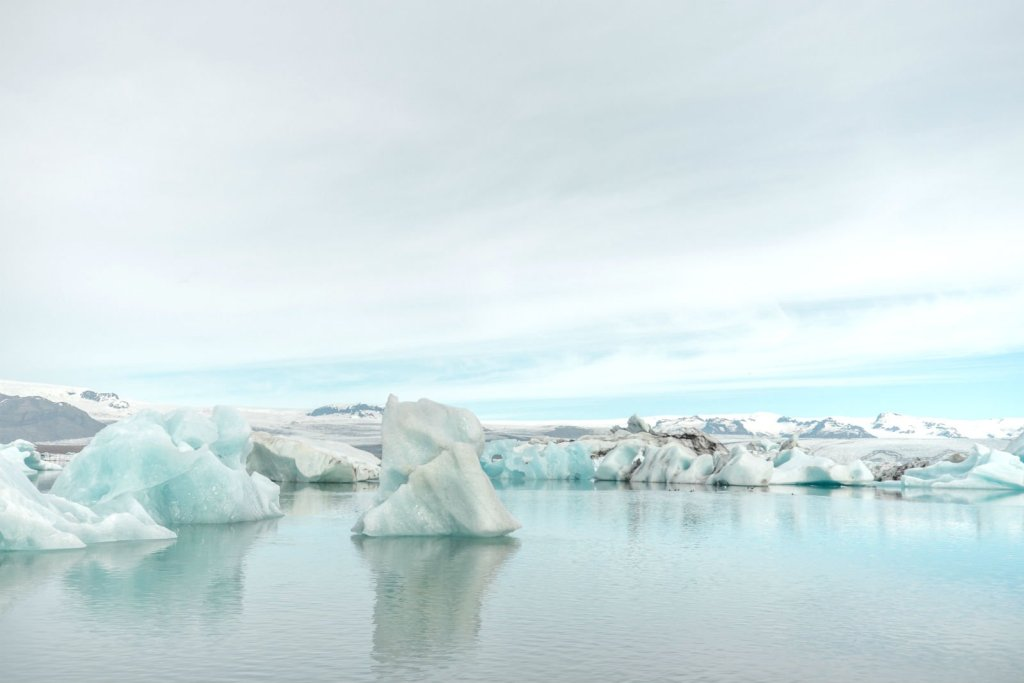 Image of the arctic ocean