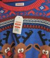 image of value village brand ugly sweater with led lights and new tag