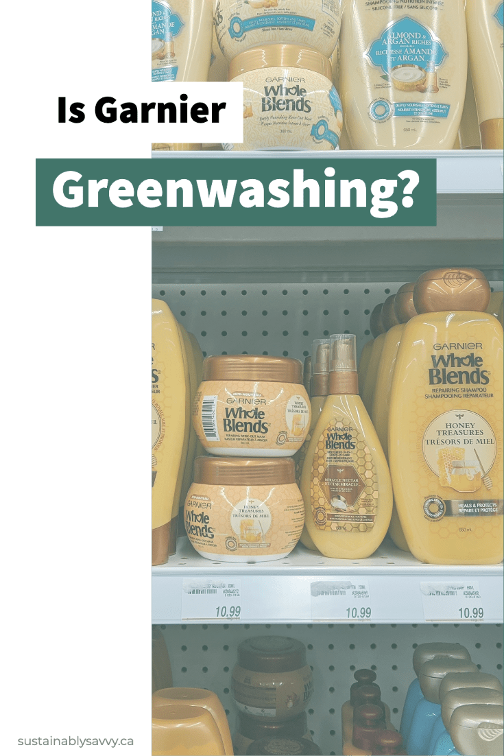 Is Garnier Greenwashing Pinterest Graphic