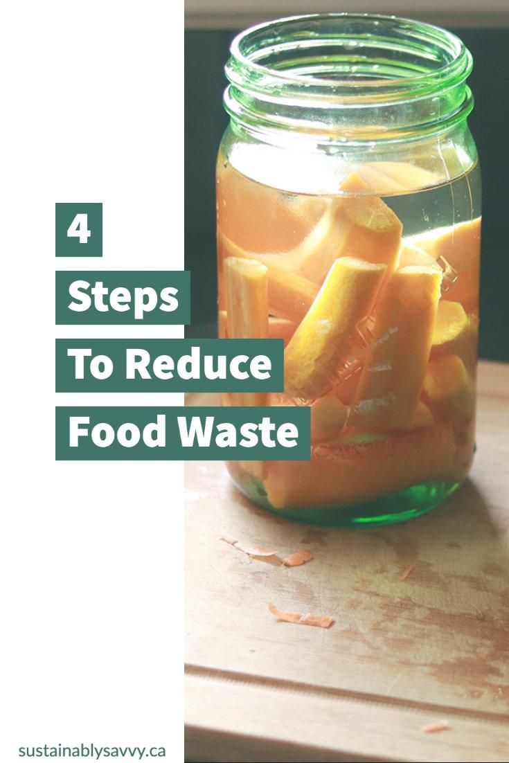 Reduce Food Waste Pinterest Image