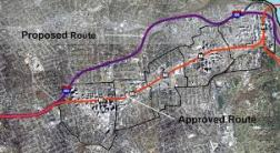 Proposed and Approved Routes. planitmetro.com