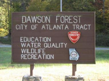 Dawson Forest Sign physicalgeographyfa09.wikispaces.com
