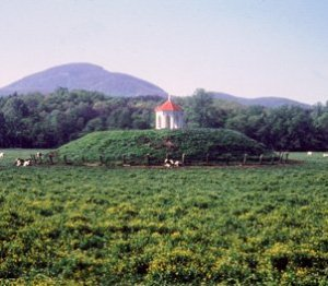 Nacoochee Mound Near Helen, GA trailofthetrail.blogspot.com