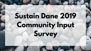 Sustain Dane 2019 Survey