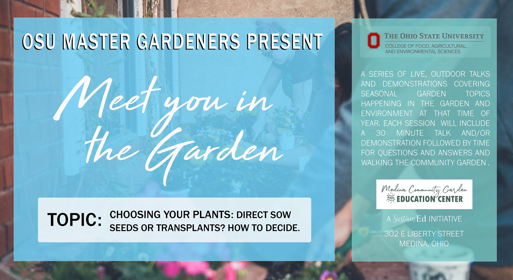 Choosing Your Plants Presented By Osu Master Gardeners Sustained