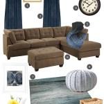 Family Room Decorating Ideas Blue Living Room Makeover