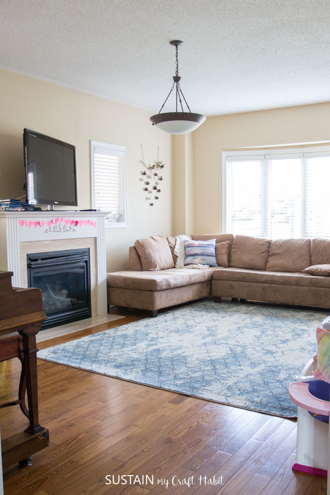 Kid Friendly Family Room Decorating Ideas