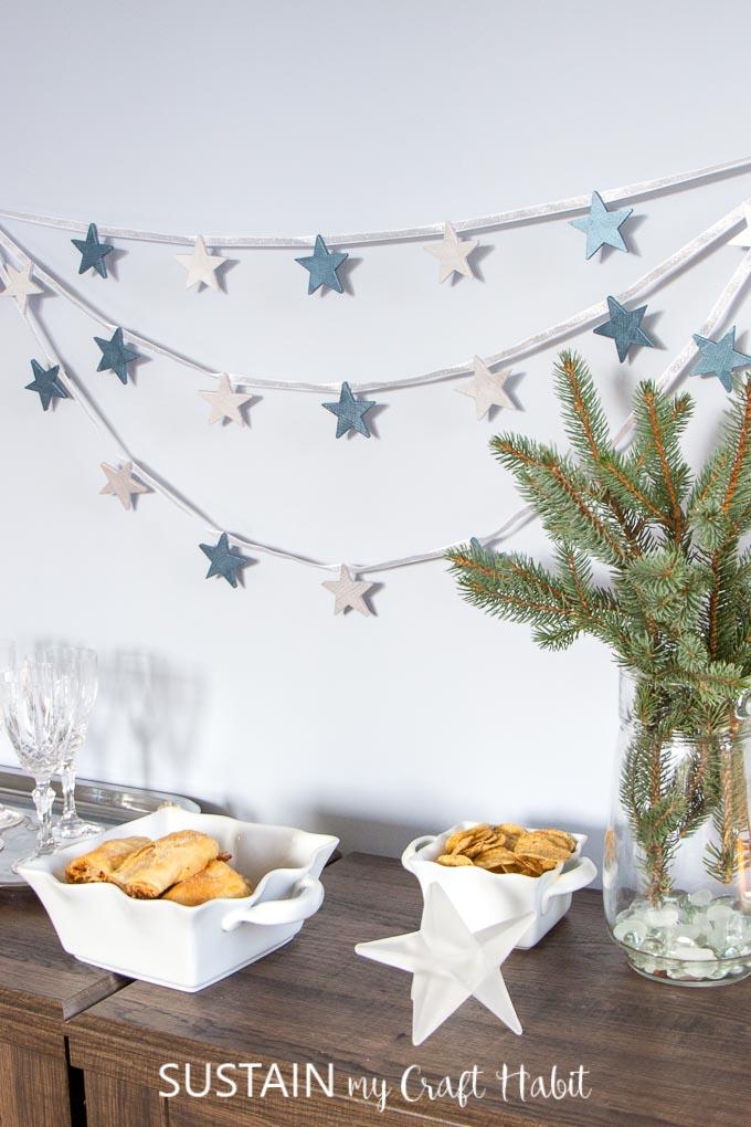 Winter Party Decoration Ideas Sustain My Craft Habit