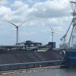 Coal and wind turbines,Denmark