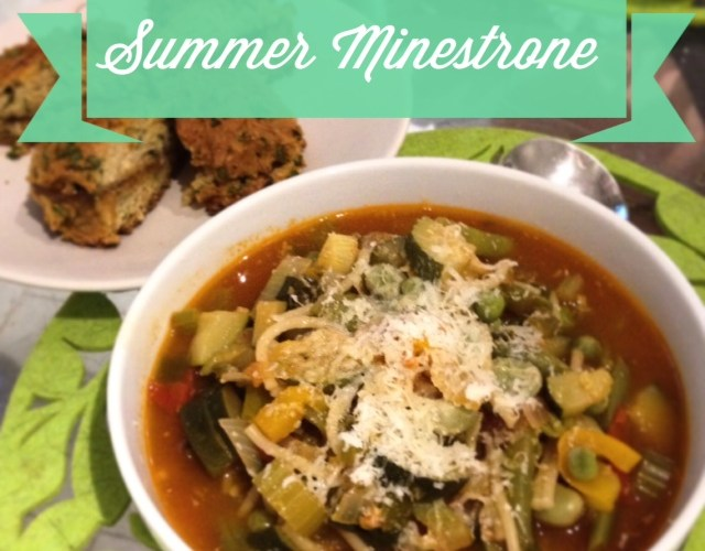 Summer Minestrone Soup
