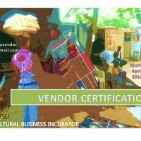 SPRING 2014: Vendor Certification and Pop Up Market Collaboration!