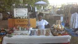CraftsWombman beautiful display of waist beads and candles