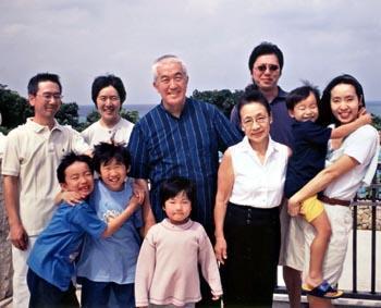永六輔 家族