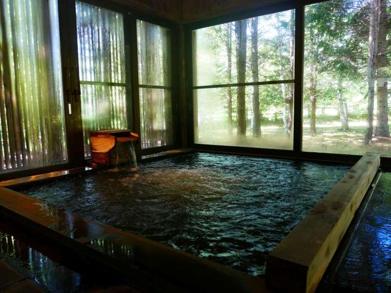 つたや季の宿風里 温泉大浴場