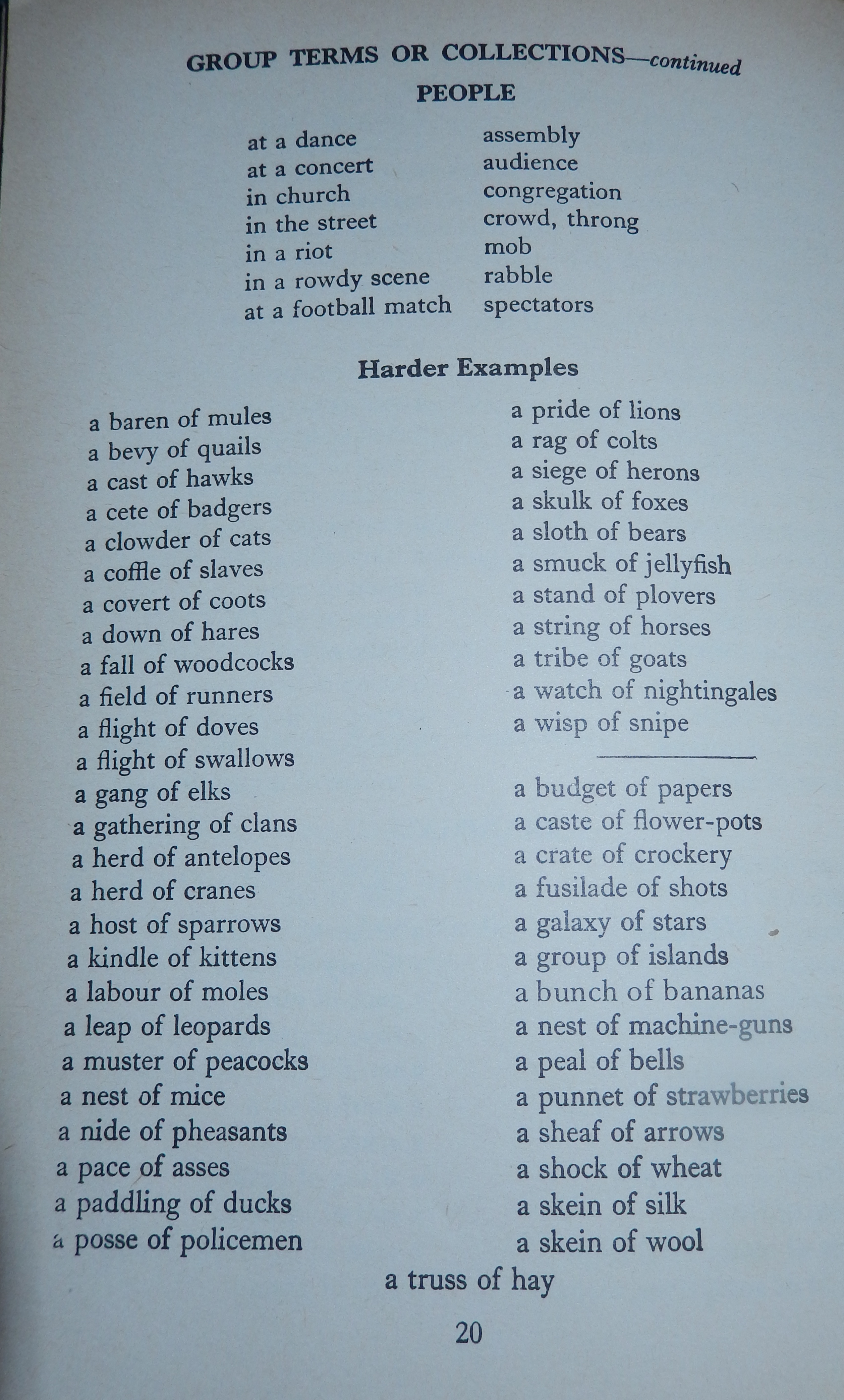 How Often Do We Use Collective Nouns