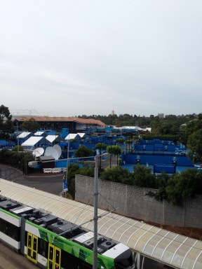 Australian Open outside courts