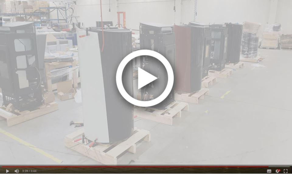SÛTI Design & Utility - Pellet Stoves Production