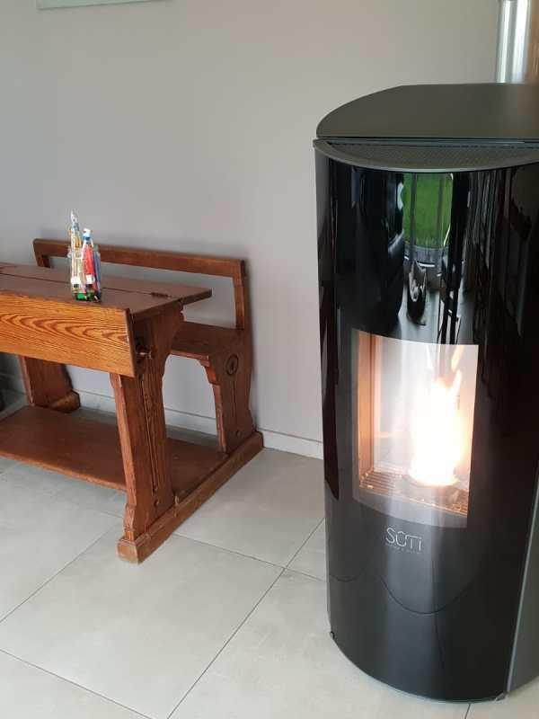 Sûti | Poêle à granulé design | IP1 | acier