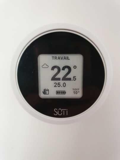 Sûti | Poêle à granulé design | Thermostat